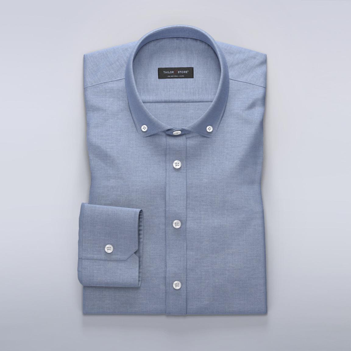 Odin collection - denim blue dress shirt