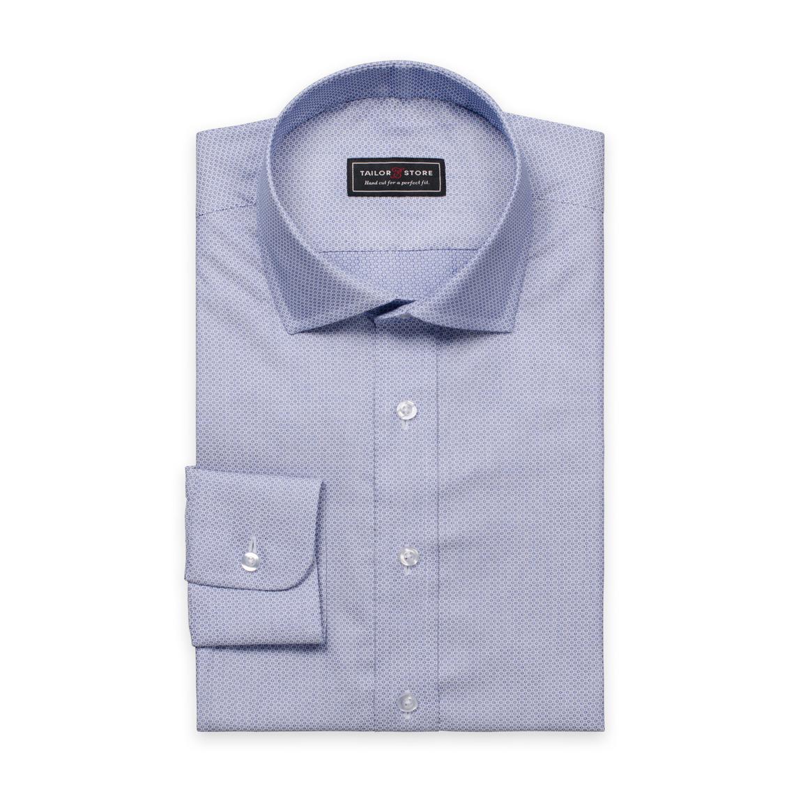 Light blue cut-away superior shirt