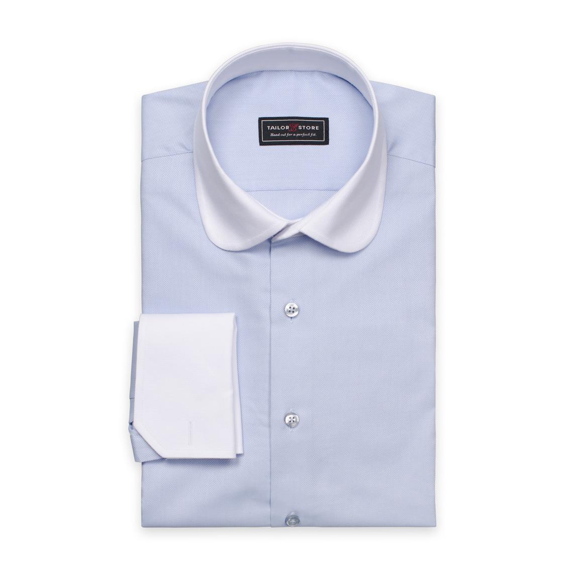 Koszula Oxford z białym kołnierzykiem