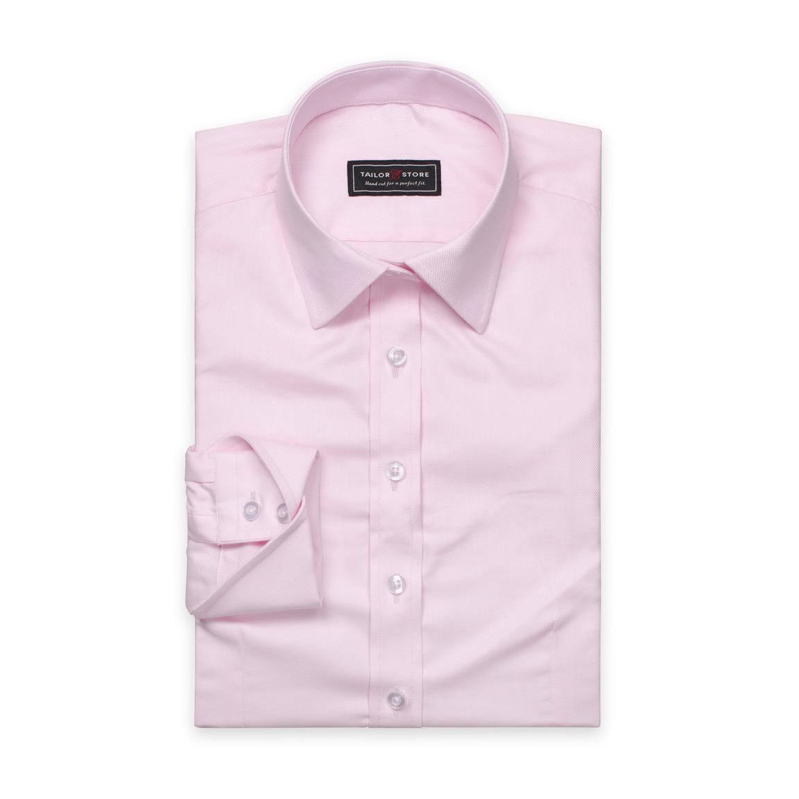 Rosa damskjorta i oxford