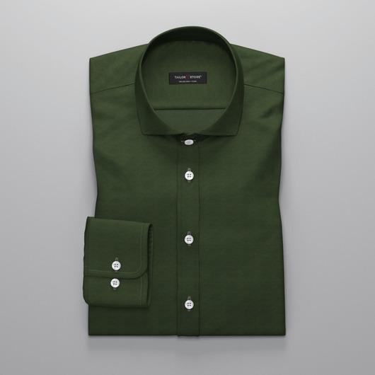 Mörkgrön Oxfordskjorta