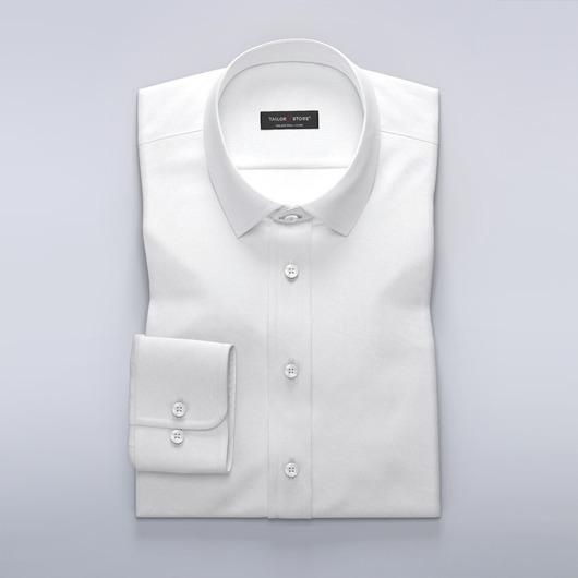 Chemise blanche business en oxford très classe