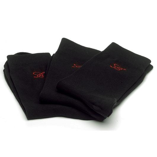 Strumpor Comfort - 3-pack svarta