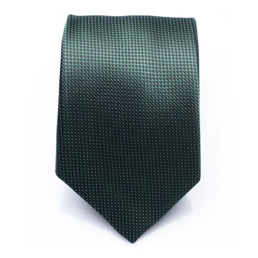 Dayton Cape Verde - Green silk necktie