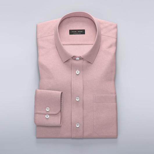 Lyserød Oxford skjorte