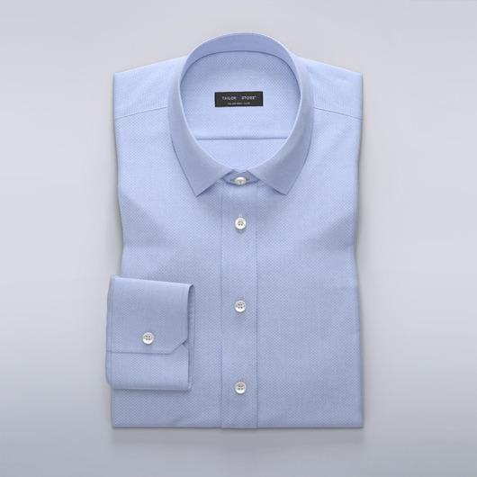 Chemise bleue clair slim fit
