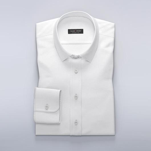 Elegant dresskjorte i moderne dobbyvevd stoff
