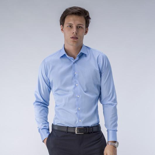 Light blue striped shirt<br><br>
