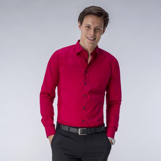 Red dress shirt<br><br>