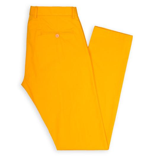 Chino classique jaune sur mesure