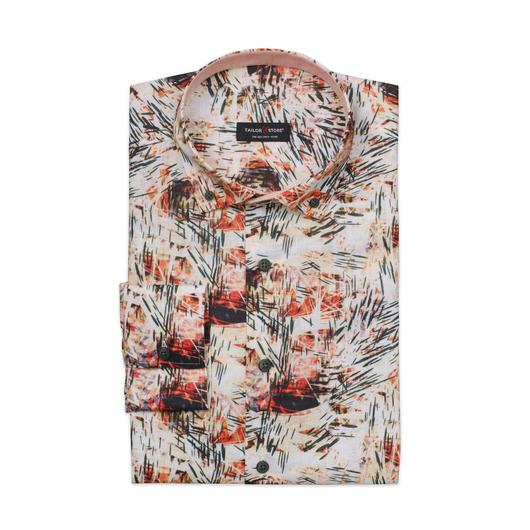 Limited Edition, mehrfarbige Leinenhemden