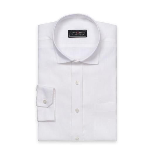 Chemise blanche en lin